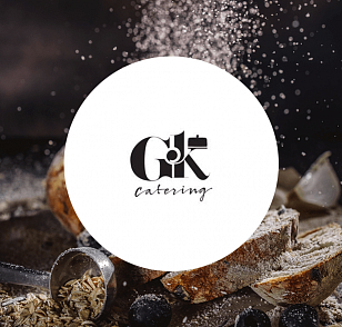 Landing page G&K Catering